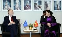 Nguyên Thi Kim Ngân rencontre des responsables belge et européen