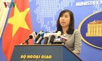 Ministère vietnamien des Affaires étrangères : conférence de presse du 25 avril 2019