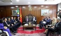 Le Vietnam et le Brésil promeuvent la coopération dans le secteur législatif