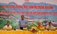 Truong Hoà Bình inspecte les préparatifs du Vesak 2019
