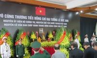 Décès de Lê Duc Anh: messages de condoléances des dirigeants étrangers