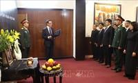 Hommage à l'ancien président Lê Duc Anh à l'étranger
