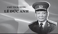Les presses cambodgienne et américaine rendent hommage à l'ancien président Lê Duc Anh