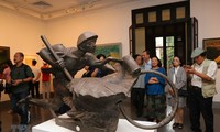 Exposition de beaux-arts sur les soldats de Diên Biên