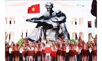 Programme artistique en l'honneur du président Hô Chi Minh