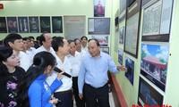 "Nguyên Xuân Phuc visite l'exposition ""Thanh Hoa, jadis et aujourd'hui"""
