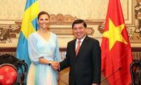La princesse héritière de Suède à Hô Chi Minh-ville