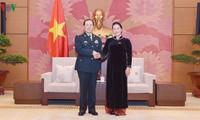 Le ministre chinois de la Défense reçu par Nguyên Thi Kim Ngân