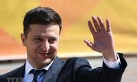 Ukraine: Zelensky veut la paix avec Moscou et garde l'UE et l'OTAN comme priorités