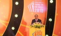Remise des Prix nationaux de l'information pour l'étranger 2018