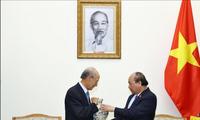 Le Premier ministre vietnamien rencontre le président de la société CapitaLand