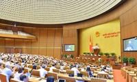 7e session parlementaire: un premier bilan