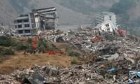 Message de condoléance aux sinistrés chinois