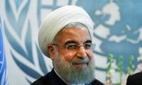 «L'Iran ne cherche la guerre avec aucun pays», promet Hassan Rohani à Emmanuel Macron