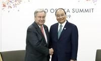 Sommet du G20: Nguyên Xuân Phuc discute de la coopération bilatérale avec d'autres dirigeants
