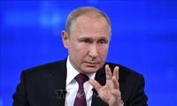 Vladimir Poutine signe la loi sur la suspension par la Russie du traité FNI