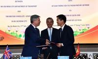 Ho Chi Minh-ville/Royaume-Uni: coopération dans l'édification d'une ville intelligente
