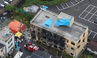 Message de condoléances aux victimes de l'incendie à Kyoto