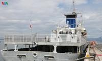 Le navire-école japonais Kojima jette l'ancre à Dà Nang