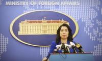 Conférence de presse du ministère vietnamien des Affaires étrangères du jeudi 25 juillet
