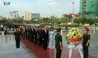Événement à la mémoire des soldats volontaires du Vietnam tombés au Cambodge