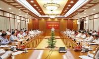 Nguyên Phu Trong préside la 16e réunion de la Direction centrale anticorruption