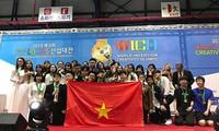 Bons résultats des élèves vietnamiens aux WICO 2019