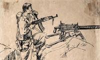 Ký họa của danh họa Tô Ngọc Vân trong kháng chiến chống Pháp
