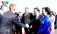 Chủ tịch nước Trương Tấn Sang thăm cấp Nhà nước tới Cộng hòa Séc