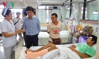 Người Việt bị thương trong vụ nổ tại Bangkok đã bình phục
