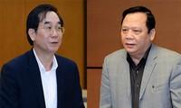 Quốc hội xem xét miễn nhiệm một số chức danh lãnh đạo của Quốc hội