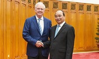 Thủ tướng tiếp Giám đốc Chương trình Việt Nam Đại học Harvard Hoa Kỳ