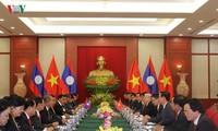 Tổng Bí thư, Chủ tịch nước Lào Bounnhang Volachith bắt đầu chuyến thăm Việt Nam