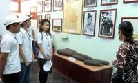 Đại biểu thanh niên kiều bào thăm Khu chứng tích Sơn Mỹ, Quảng Ngãi