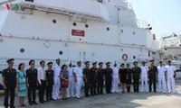 Tàu Bảo vệ bờ biển Ấn Độ thăm Việt Nam