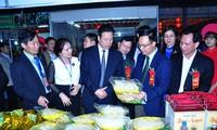 Khai mạc Hội chợ Công nghiệp - Thương mại và sản phẩm làng nghề Hà Giang 2016
