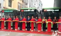 Hà Nội khai trương tuyến xe buýt nhanh đầu tiên Kim Mã - Yên Nghĩa