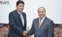 Thủ tướng Nguyễn Xuân Phúc tiếp Đại sứ Myanmar và Đại sứ Qatar