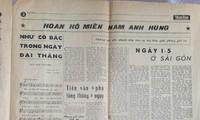 Bản tường thuật đầu tiên của báo chí Việt Nam về chiến thắng lịch sử ngày 30/04/1975