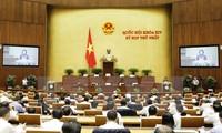 Quốc hội Việt Nam chủ động , tích cực thúc đẩy thực hiện các mục tiêu phát triển bền vững