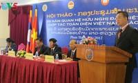 Hội thảo 55 năm quan hệ hữu nghị, hợp tác đặc biệt Việt - Lào và triển vọng