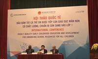Việt Nam quan tâm phát triển giáo dục mầm non chất lượng