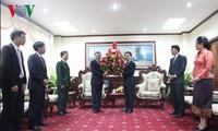 Điện mừng 55 năm quan hệ Việt Nam - Lào