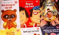 """""""Nuôi dưỡng tâm hồn"""": Sách tranh cho học sinh mẫu giáo Nhật Bản đến VN"""