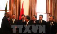 Đoàn đại biểu cấp cao Quốc hội Việt Nam kết thúc tốt đẹp chuyến thăm, làm việc tại Nam Phi