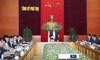 Phó Thủ tướng Thường trực Chính phủ Trương Hòa Bình làm việc tại tỉnh Phú Thọ