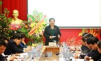 Phó Chủ tịch Thường trực Quốc hội Tòng Thị Phóng làm việc với Bảo hiểm xã hội Việt Nam