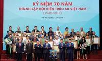 Thủ tướng Nguyễn Xuân Phúc dự kỷ niệm 70 năm thành lập Hội Kiến trúc sư Việt Nam