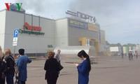 Hỗ trợ các hộ kinh doanh người Việt bị cháy ki-ốt ở Kazan (Nga)