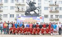 Sôi động ngày hội thể thao của cộng đồng người Việt Nam tại Ukraine